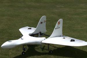Así luce el nuevo drone de la empresa japonesa Foto:Sony. Imagen Por:
