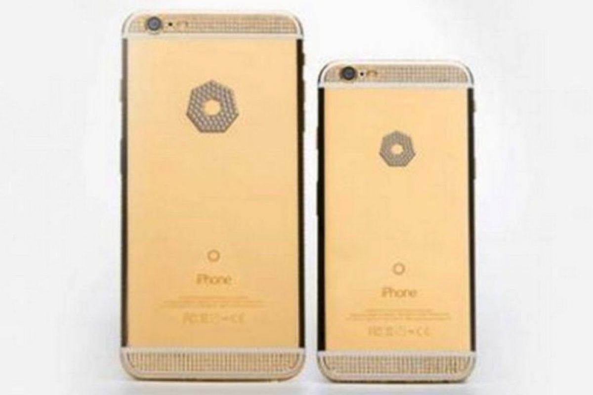 Y así se verá en la versión de oro y diamantes Foto:Brikk. Imagen Por: