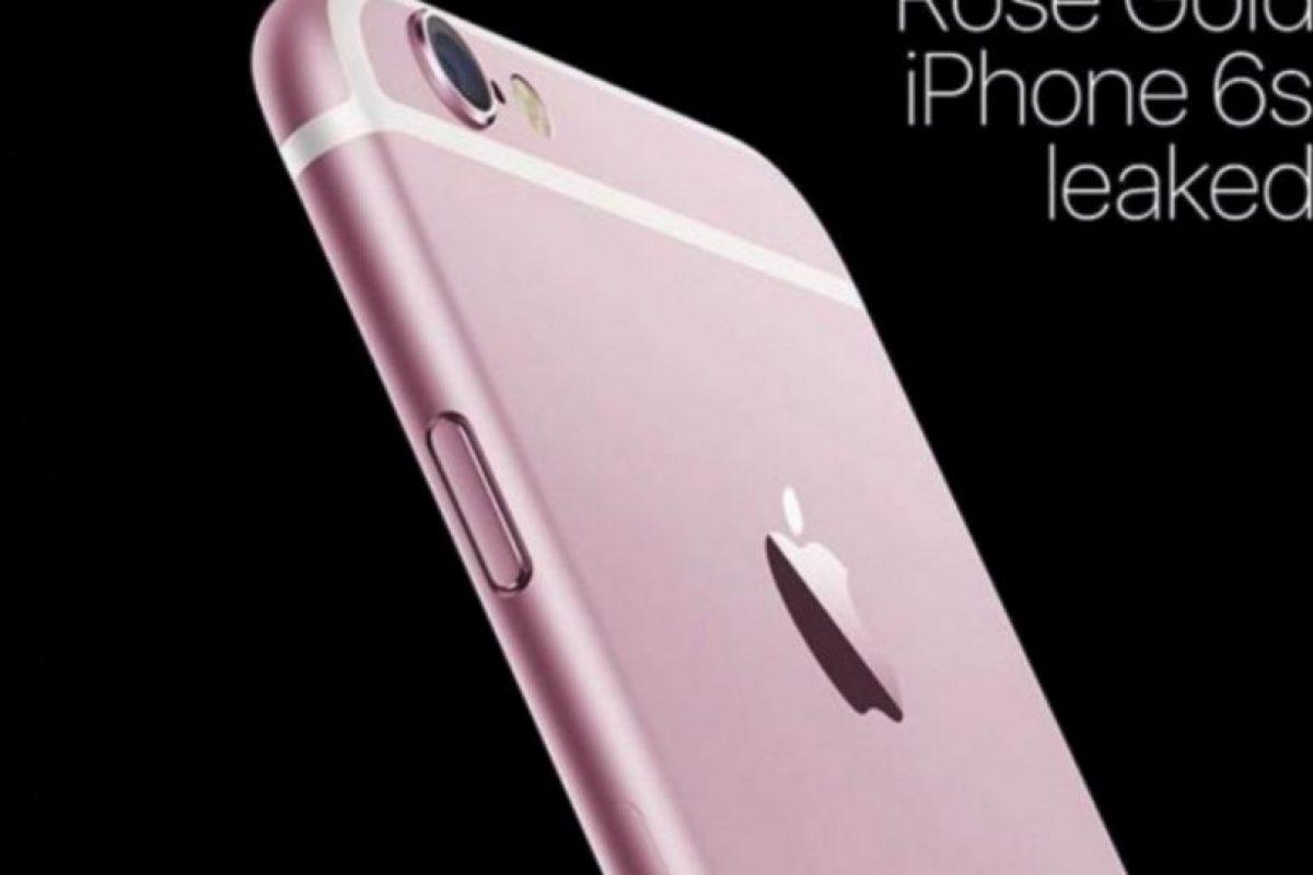 Los rumores dicen que podría estar disponible en color rosa Foto:Twitter. Imagen Por: