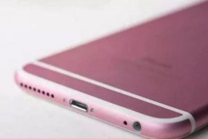 Los rumores dicen que podría estar disponible en color rosa Foto:vía daliulian.net. Imagen Por:
