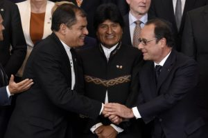 """En 2011, el periodista Alfredo Rodríguez escribió el libro """"Evadas: cien frases de Juan Evo Morales Ayma para la historia"""" en el que se recopilan sus frases menos acertadas Foto:AFP. Imagen Por:"""
