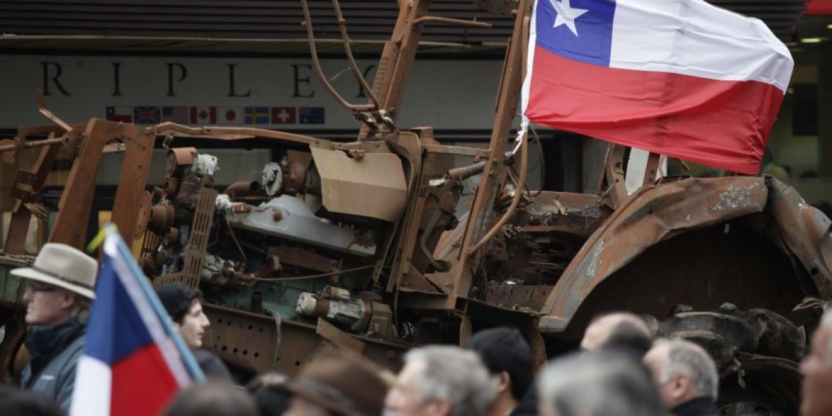 Camioneros ya están en Rancagua y reiteran que su destino es La Moneda