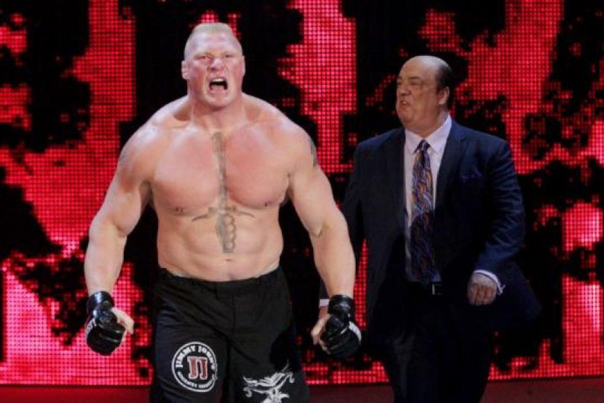 """Después de vencer a """"Taker"""" en Wrestlemania 30, podría haberse retirado pero ha continuado engrandeciendo su nombre en el entretenimiento deportivo Foto:WWE. Imagen Por:"""