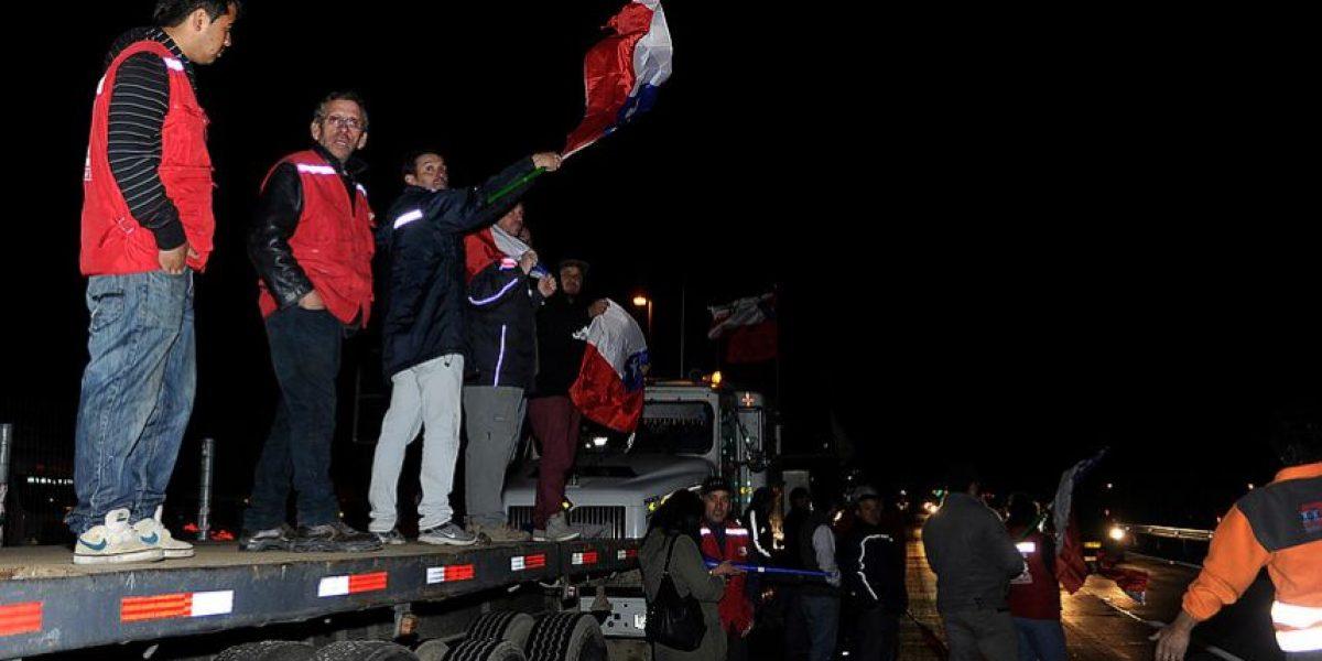 Este es el documento con el que se prohíbe el ingreso de camiones a Santiago