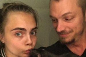 """Cara Delevingne (""""Enchantress"""") incluso se retrató con el roedor, al que bautizaron como """"Rat Rat"""" Foto:vía instagram.com/caradelevingne. Imagen Por:"""