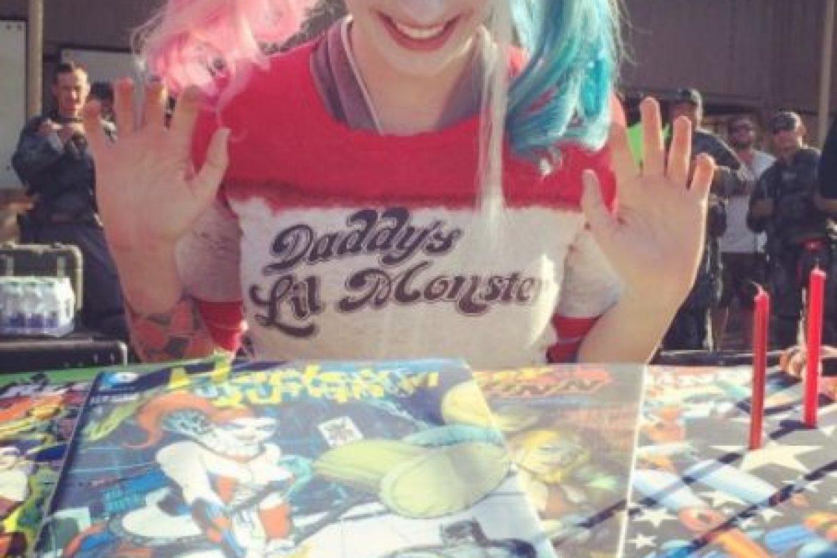 """Y su excusa fue: """"Si 'Harley' recibe algo de 'Joker', probablemente lo apreciaría"""". Foto:vía instagram.com/margotrobbie. Imagen Por:"""