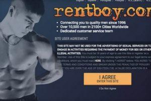 """Rentboy.com se cataloga como el """"sitio de acompañantes masculinos más grande del mundo"""". Foto:rentboy.com. Imagen Por:"""