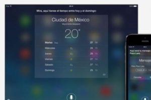 Dictados de igual forma sirve para aplicaciones como Twitter, Facebook, búsquedas en web, entre otras. Foto:Apple. Imagen Por: