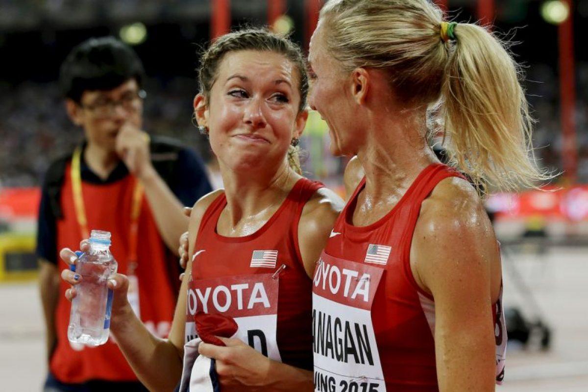 En la final de los 10 mil metros en el Mundial de Atletismo de Beijing 2015. Foto:Getty Images. Imagen Por: