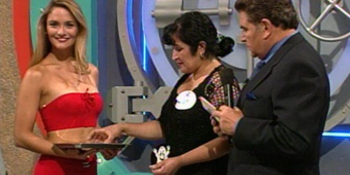 Así lucía Kenita Larraín en sus primeras apariciones en televisión