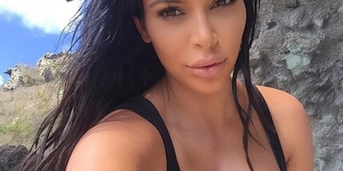 Kim Kardashian reveló cómo su segundo embarazo le