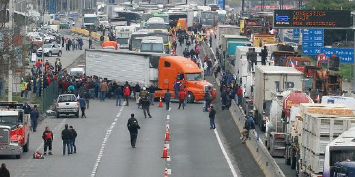 SNA y decreto: es un resquicio legal para reprimir derecho de los camioneros a manifestarse