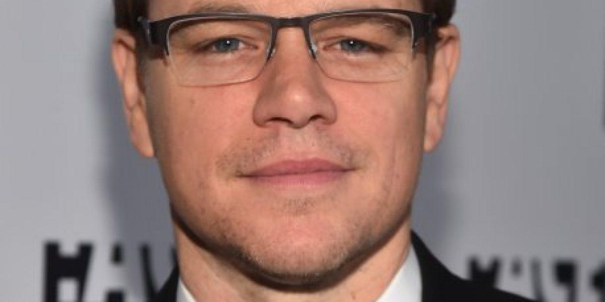 Matt Damon defiende a su esposa argentina de Donald Trump