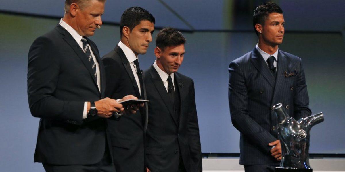 Buen compañero: Suárez felicitó a Messi por su premio a mejor de Europa