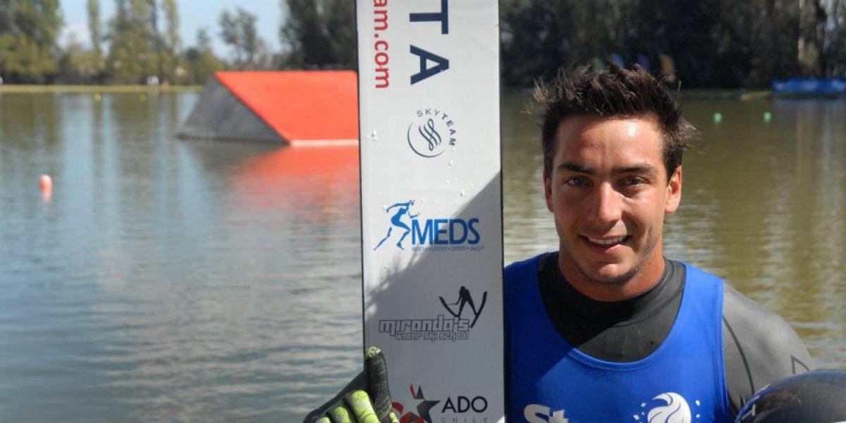 Esquí Náutico: Rodrigo y Felipe Miranda alcanzan sus mejores marcas de año