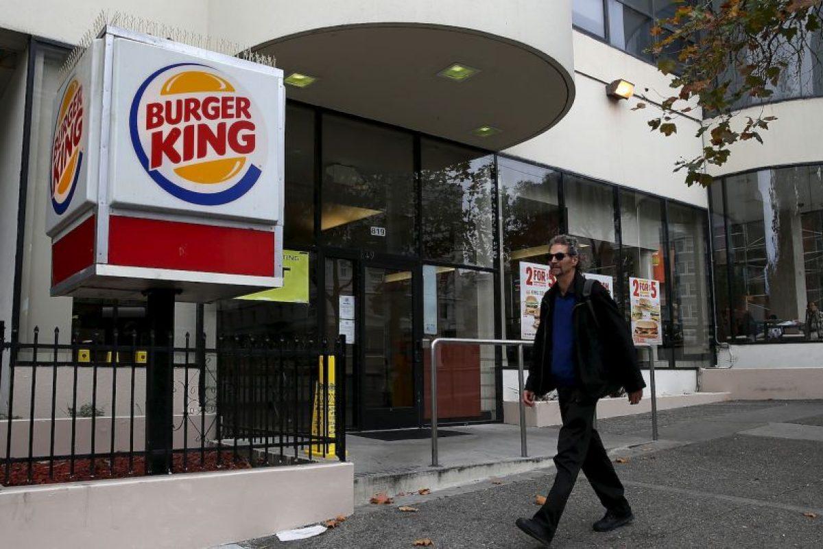 Por su parte, la cadena de comida rápida Burger King surgió una década después. Fue creada en 1954 por James McLamore y David Egerton. Foto:Getty Images. Imagen Por: