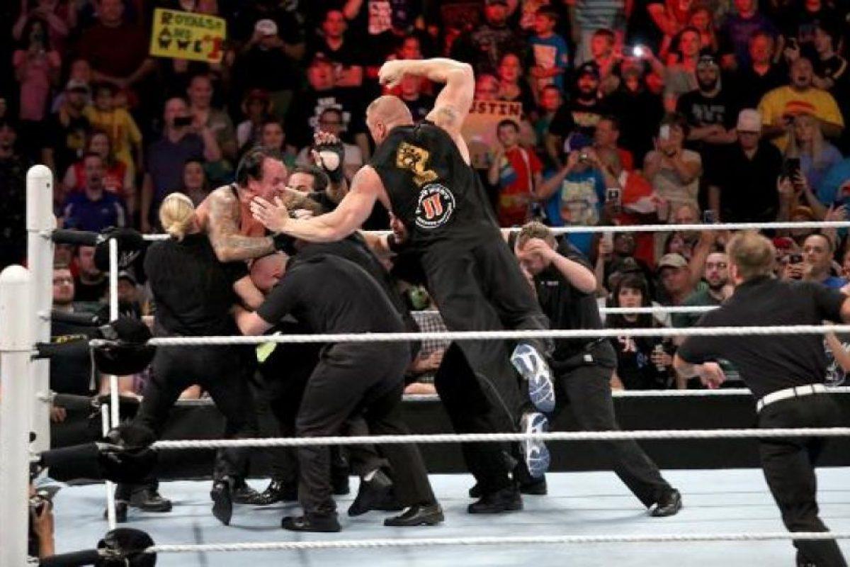 3. Nunca es suficiente. Foto:WWE. Imagen Por: