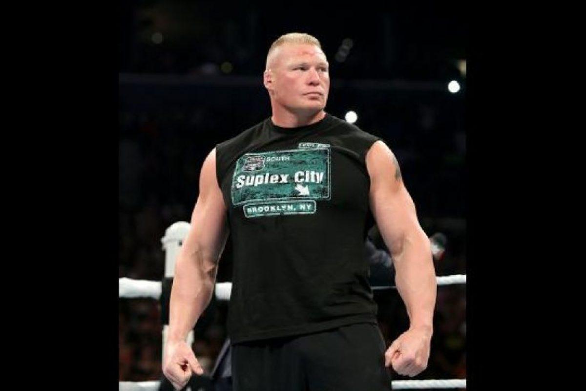 6. Ganarse el respeto con acciones. Su rudeza y estilo único en el ring lo han hecho uno de los peleadores más imponentes de la actualidad. Foto:WWE. Imagen Por: