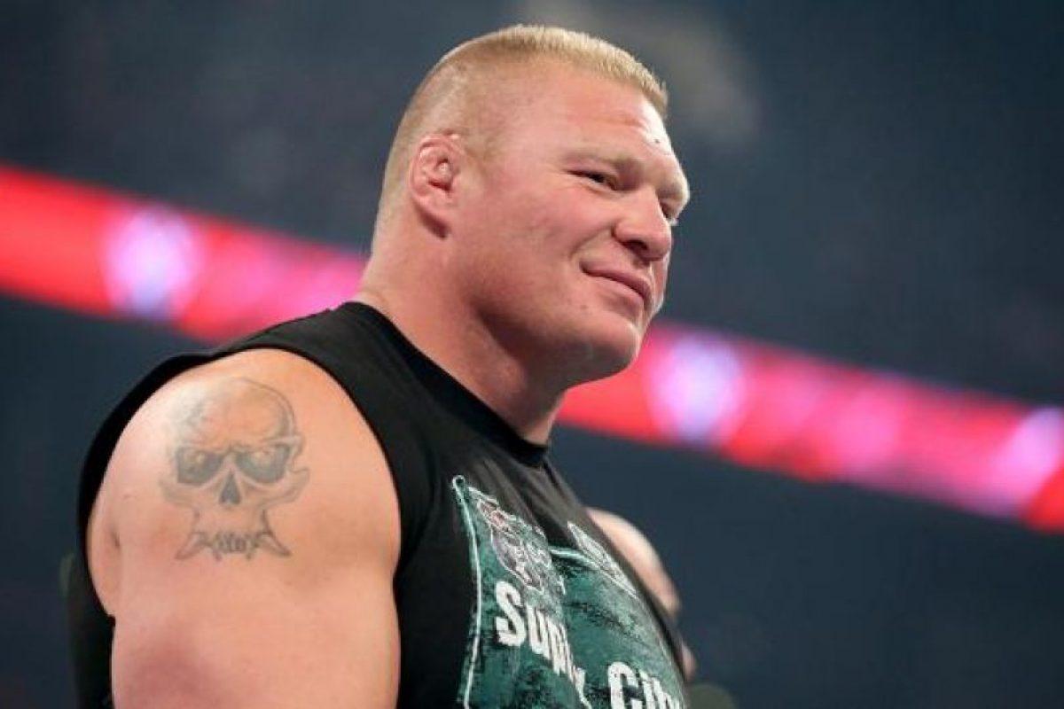 """7. Canalizar la furia de buena forma. Todos sabemos que """"La Bestia"""" es explosivo, pero ha encontrado la forma de equilibrar sus impulsos hasta convertirse en uno de los luchadores más respetados por el entretenimiento deportivo Foto:WWE. Imagen Por:"""