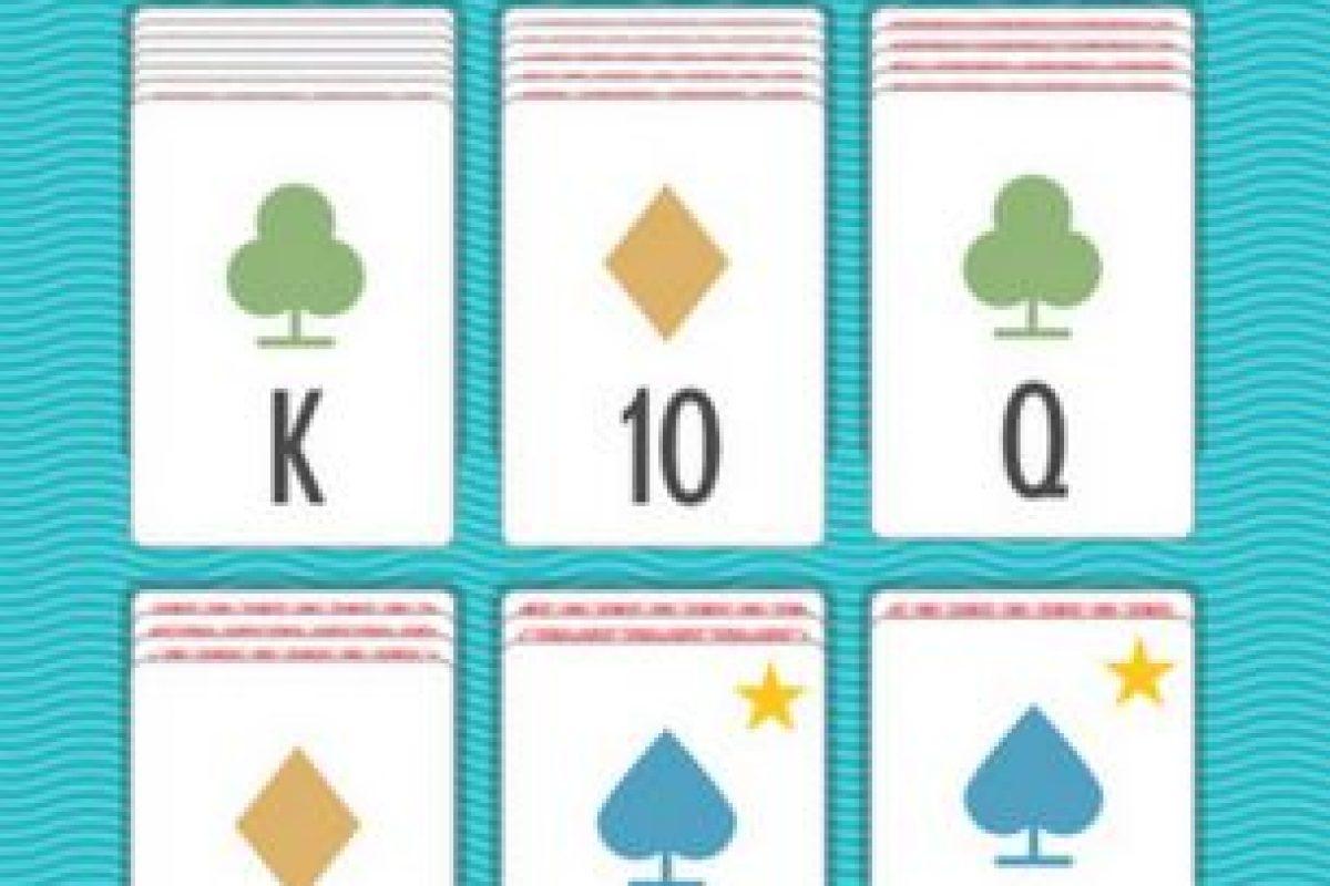 """Así luce Sage Solitaire, el juego para iPhone y iPad que cambia la forma de jugar """"Solitario"""" Foto:Zach Gage. Imagen Por:"""