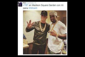 50 Cent Foto:Twitter/Juanlmorera. Imagen Por:
