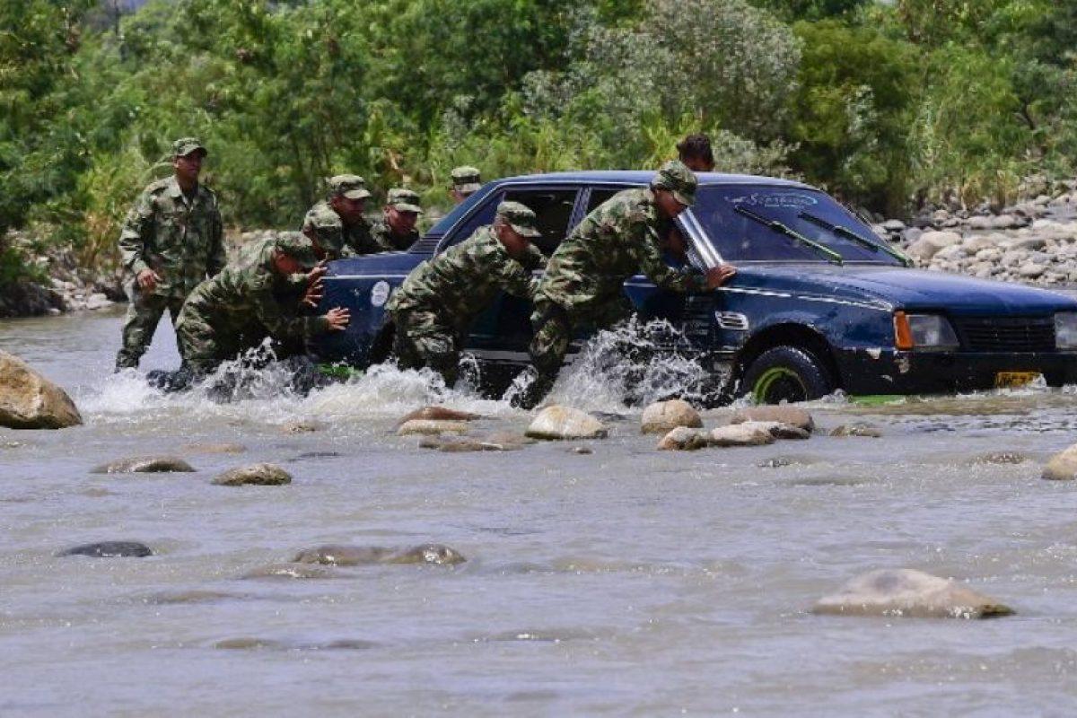 Mil 88 en los últimos seis días (151 diarios), de acuerdo a la Oficina de Coordinación Humanitaria de Naciones Unidas en Colombia. Foto:AFP. Imagen Por: