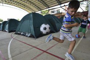 De los cuales 244 son menores de edad. Foto:AFP. Imagen Por: