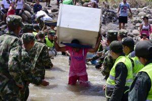 Venezuela también inició la deportación y repatriación de colombianos en su territorio. Foto:AFP. Imagen Por: