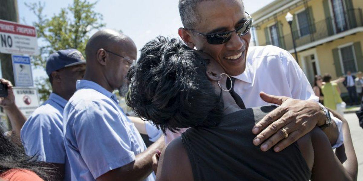 Fotos: Barack Obama visita Nueva Orleans a 10 años de Katrina