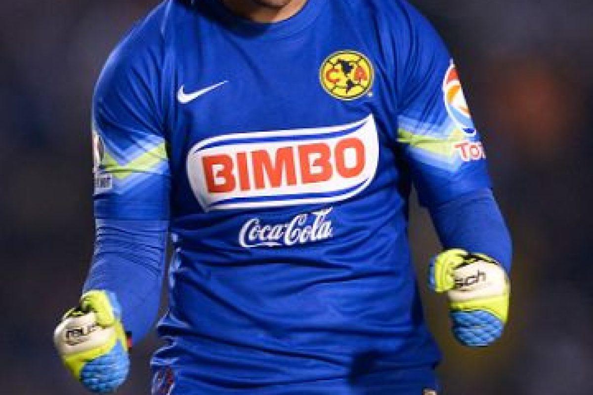 """Ha tenido un papel destacado como portero del América de México y también ha sido seleccionado nacional aunque le han """"llovido"""" críticas por su sobrepeso. Foto:Getty Images. Imagen Por:"""