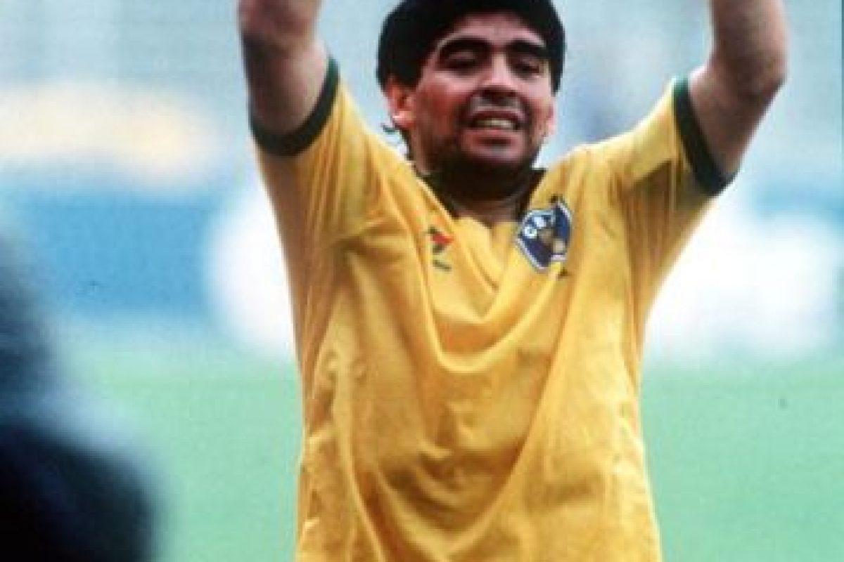 1. Diego Maradona Foto:Getty Images. Imagen Por: