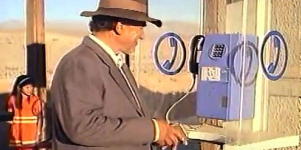 ¿Recuerdas el spot? Cachiyuyo marca hito en 4G a 25 años del emblemático teléfono público