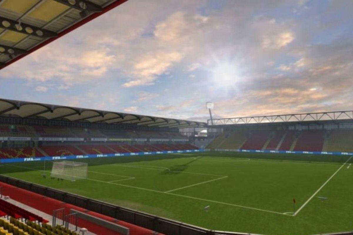 Vicarage Road (Watford, Barclays Premier League). Foto:EA Sports. Imagen Por: