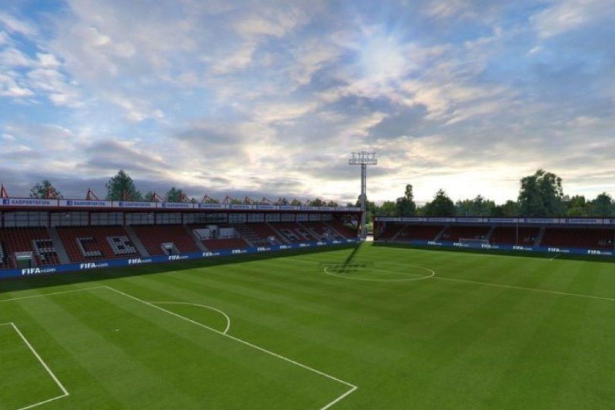 Vitality Stadium (Bournemouth, Barclays Premier League). Foto:EA Sports. Imagen Por: