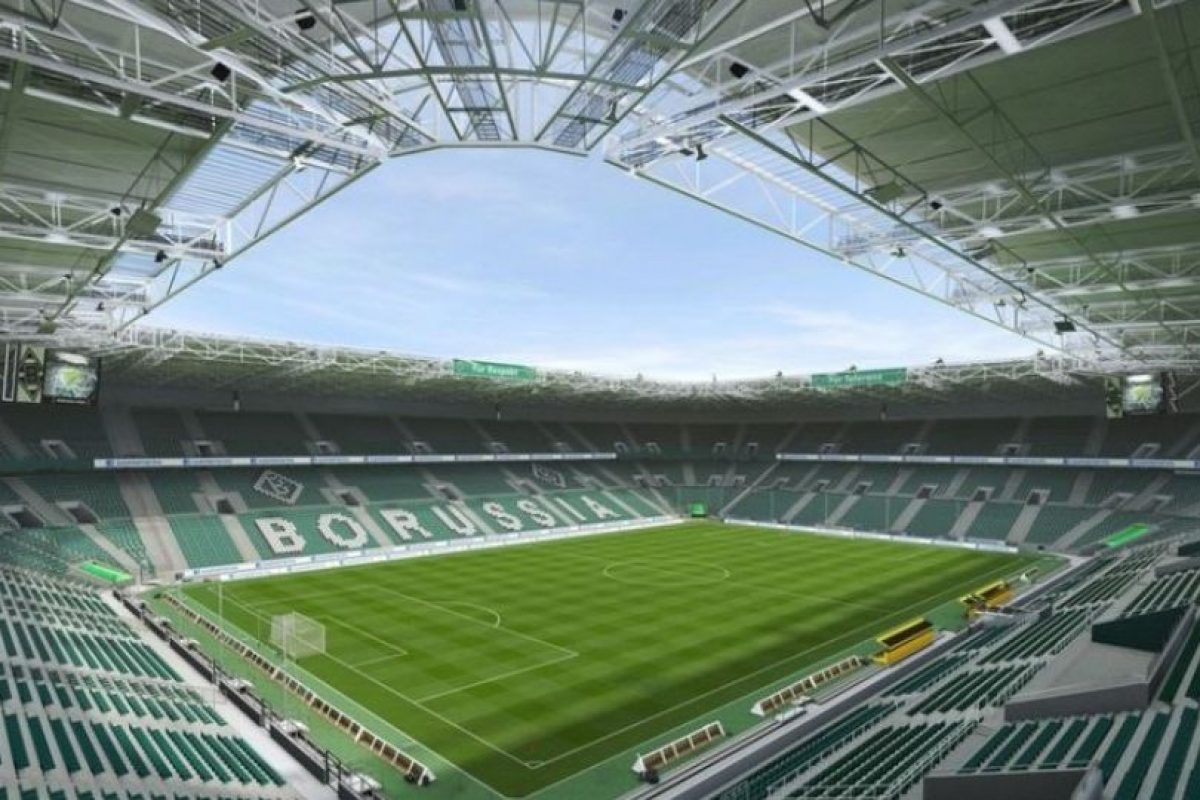 Borussia-Park (Borussia Mönchengladbach, Bundesliga). Foto:EA Sports. Imagen Por: