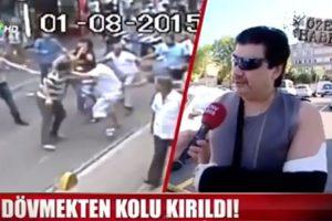 """Esto dijo el """"boxeador"""" que luchó contra una multitud en Turquía Foto:Youtube.com/F-L. Imagen Por:"""