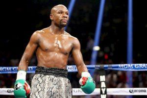 El boxeador filtró un par de polémicas fotos en la cama. Foto:Getty Images. Imagen Por: