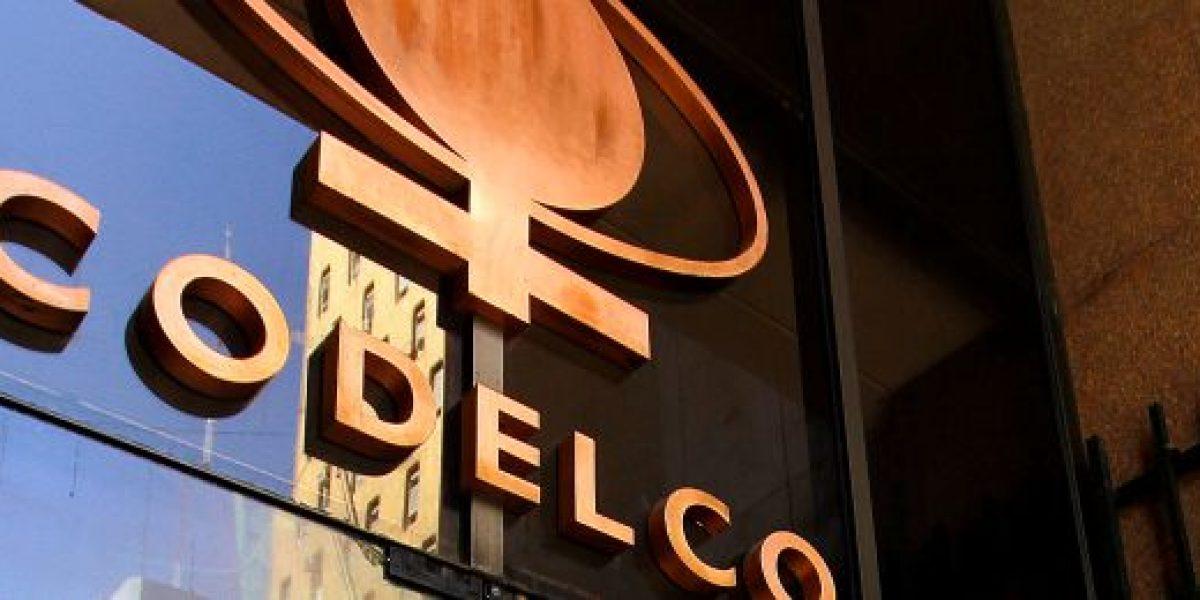 Fuerte caída: excedentes de Codelco llegan sólo a los US$875 millones