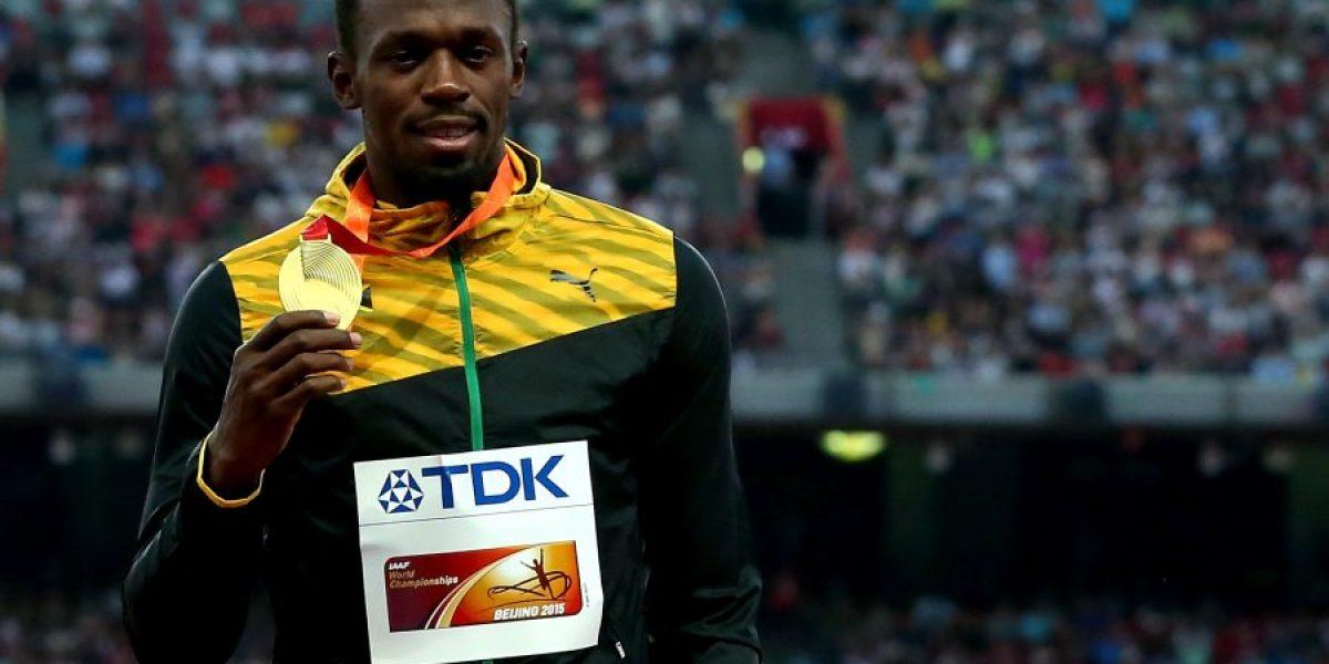 Usain Bolt perdona al camarógrafo que lo atropelló en el Mundial de Atletismo