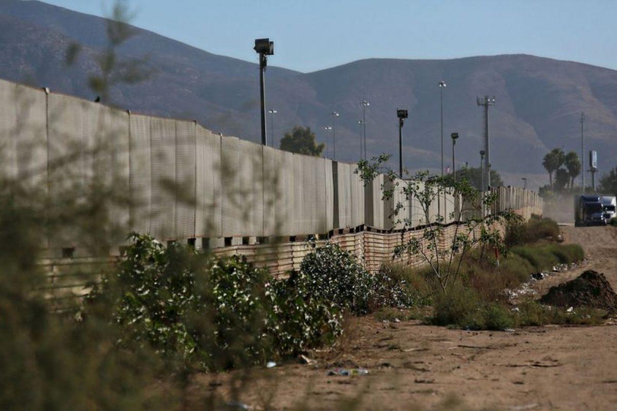 Frontera de Estados Unidos con Tijuana, México Foto:Getty Images. Imagen Por: