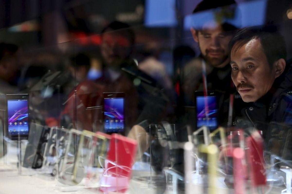 El Sony Xperia Z2 es el primer dispositivo de la gama Z de Sony en incorporar un sonido estéreo Foto:Getty Images. Imagen Por: