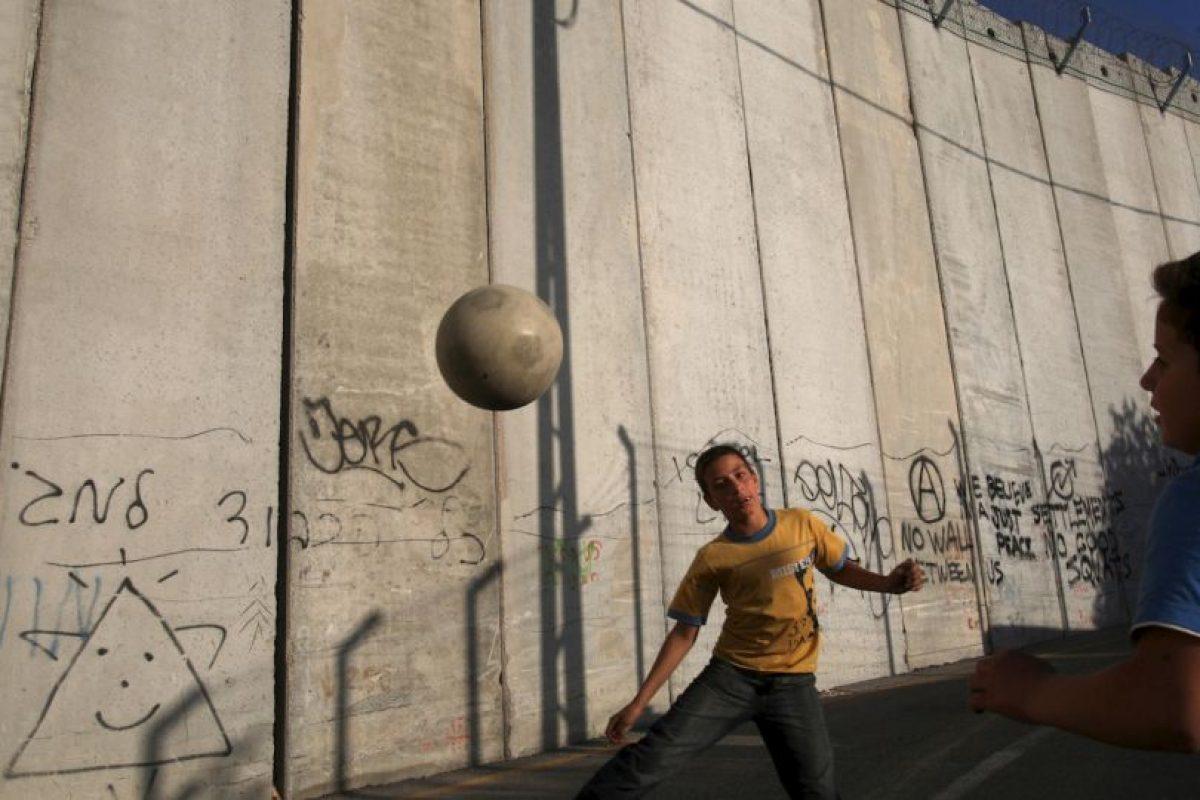 Muro entre Israel y Palestina. Foto:Getty Images. Imagen Por: