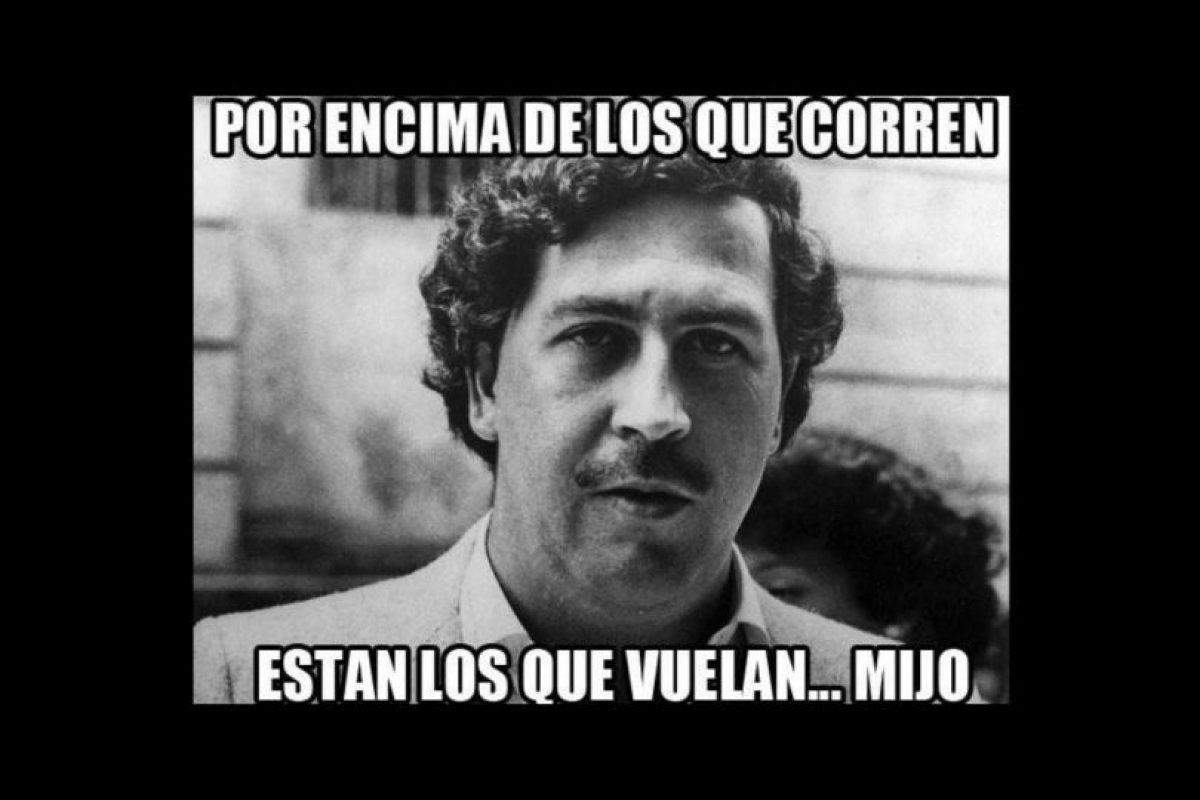Así lucía el famoso capo de la droga colombiano, Pablo Escobar. Foto:vía twitter.com. Imagen Por: