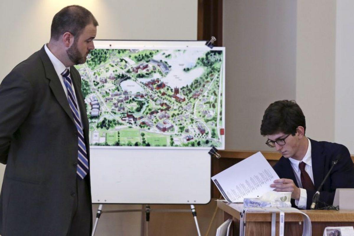 El juicio en su contra comenzó el pasado lunes y varios compañeros de clases han testificado. Foto:AP. Imagen Por: