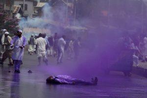 Protestas en India. Foto:AFP. Imagen Por: