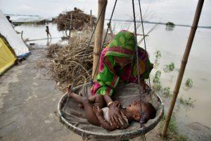 Inundaciones en la India. Foto:AFP. Imagen Por:
