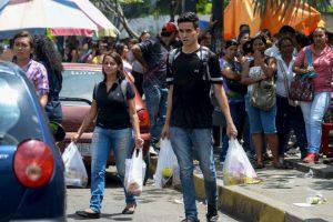 Las autoridades habían prometido una distribución de todo tipo de alimentos. Foto:AFP. Imagen Por: