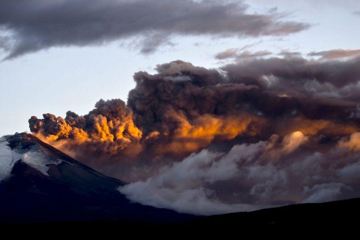 Volcán Cotopaxi en Ecuador. Foto:AFP. Imagen Por: