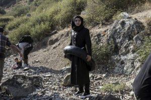 Refugiada siria en la isla griega Lesbos. Foto:AFP. Imagen Por:
