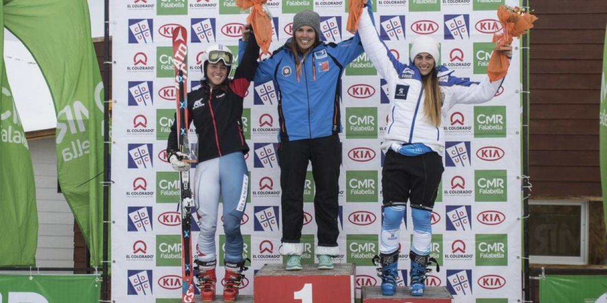 Noelle Barahona se quedó con el FIS Continental Cup Memorial Stefano Pirola 2015